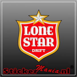 Lone Star Drift Full Colour stickers