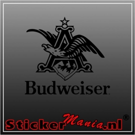 Budweiser logo sticker