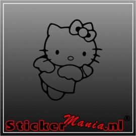 Hello kitty angel sticker