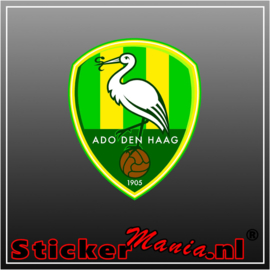 Ado Den haag full colour sticker