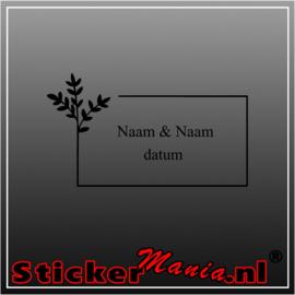Naam & Naam datum 2