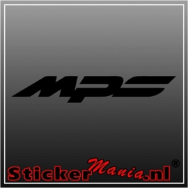 Mazda MPS sticker