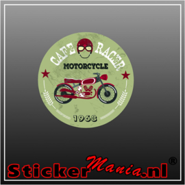 Cafe racer 1968 Full Colour sticker