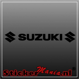 Suzuki raamstreamer sticker