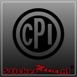 CPI sticker