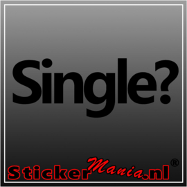 Single? sticker
