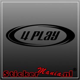 4 play sticker