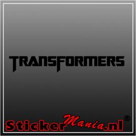Transformers 3 sticker