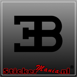 Bugatti sticker