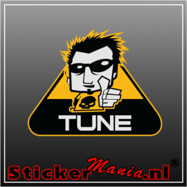 Tune Full Colour sticker