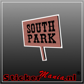 Southpark Logo Full Colour sticker