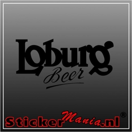 Loburg sticker