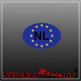 NL Europa Full Colour sticker