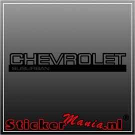 Chevrolet suburban 2 sticker