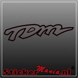 Yamaha TDM sticker
