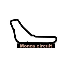 Monza circuit op voet