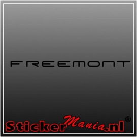 Fiat freemont sticker