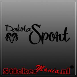 Dodge dakota sport sticker