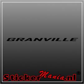 Granville sticker
