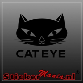 Cat eye sticker