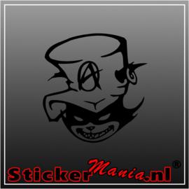 Skull 76 sticker