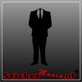 Suit sticker