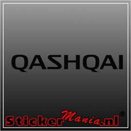 Nissan qashqai sticker