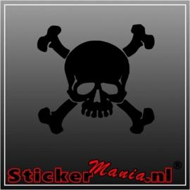 Skull 34 sticker
