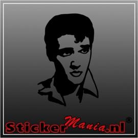 Elvis presley 4 sticker