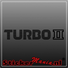 Mazda turbo 2 sticker