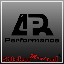 APR performance sticker