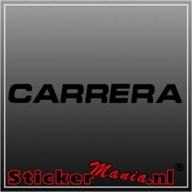 Carrera sticker