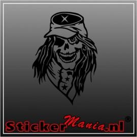 Skull 23 sticker