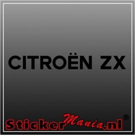 Citroën ZX sticker