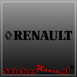 Renault 1 sticker