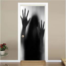 Geest deur sticker