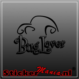 Bug lover sticker