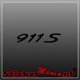 Porsche 911 S sticker