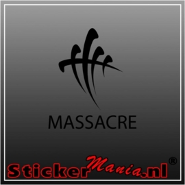 Massacre sticker