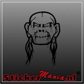 Skull 49 sticker