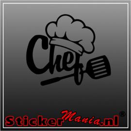 Chefs 3 sticker
