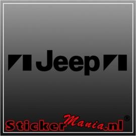 Jeep raamstreamer sticker