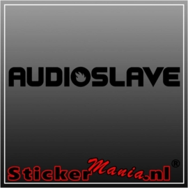 Audio slave sticker