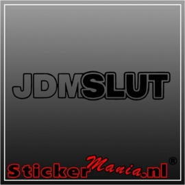 JDMslut sticker