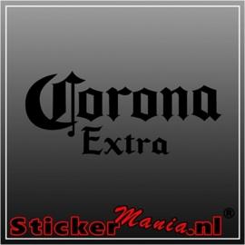 Corona extra sticker