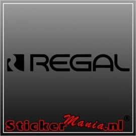 Regal sticker