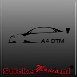 Audi A4 DTM sticker