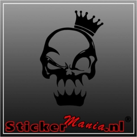 Skull 17 sticker