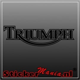 Triumph sticker