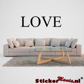 Muursticker Love 1